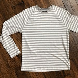 BR Luxe Stripe LS shirt